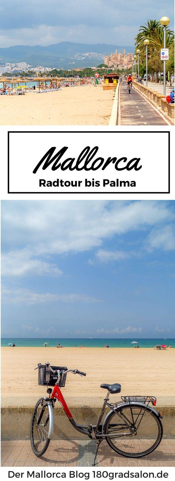 Mallorca - Tipp für eine Tour mit dem Rad. Immer das Meer im Blick mit vielen Einkehrmöglichkeiten in Restaurants, Bars und Cafes. Von Arenal bis nach Palma entlang der Playa de Palma. #mallorca #mallorcaisland #palmademallorca #balearen #mallorcafeelings #wanderlust