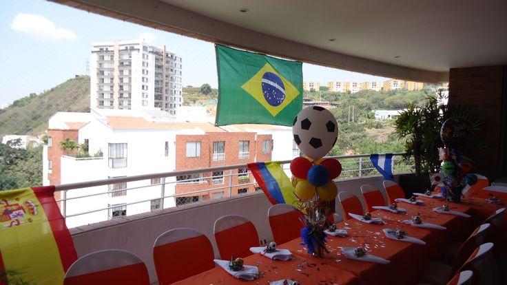 DECORACION CELEBRACION MUNDIAL BRAZIL 2014