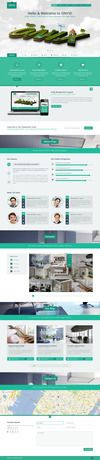 Onyx is very creative one page theme with flat design. It is made for 1170 Grid System which is also compatible with Bootstrap. Onyx includes two PSD files – Home page and Blog Single.