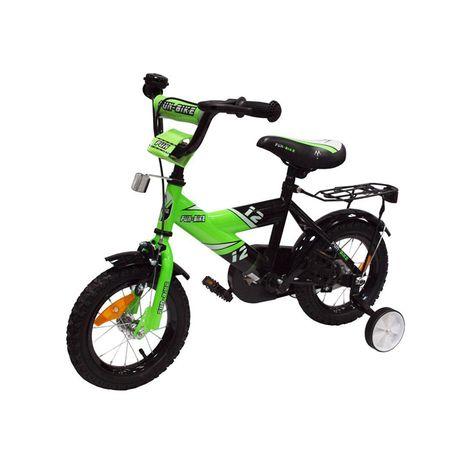 Vehicule pentru copii :: Biciclete si accesorii :: Biciclete :: Bicicleta copii MyKids Fun Bike 888 Green 12