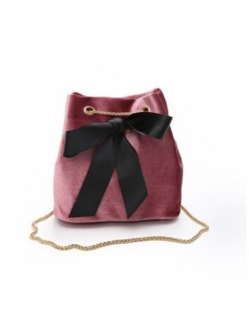 New Bowknot Wild Chain Shoulder Slung Bucket Bag  a2be97dfb4998