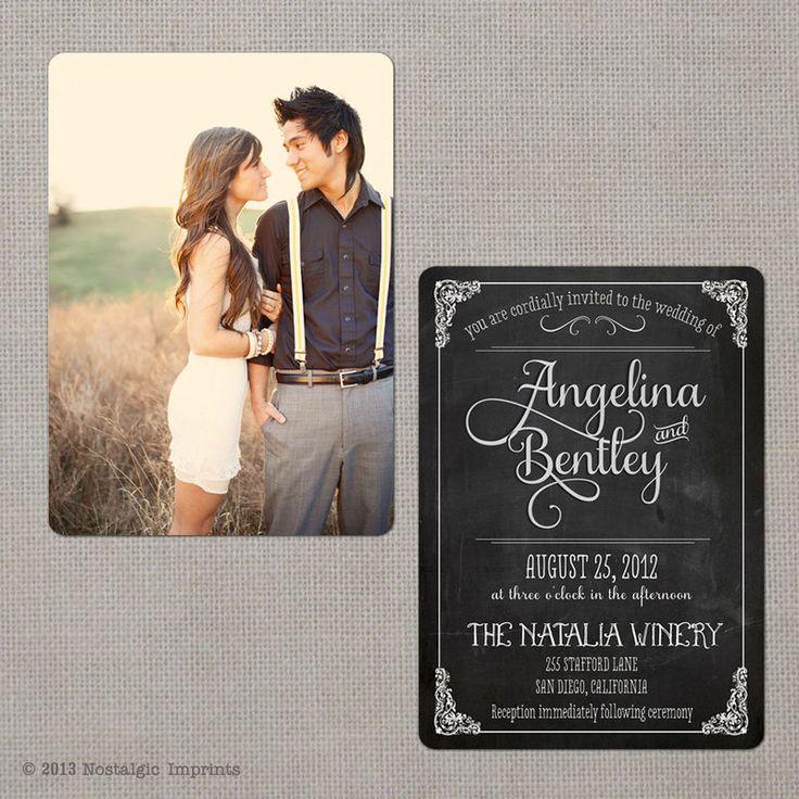 Vintage Wedding Invitation - Angelina (set 3) - product images  of