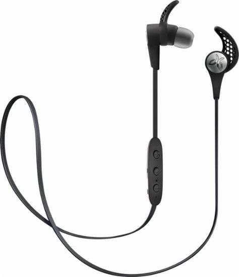 Travel Workout Headphones for Matt -- JayBird - X3 Wireless In-Ear Headphones - Blackout - Front Zoom