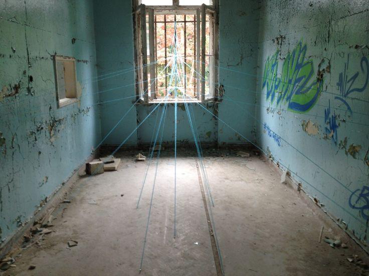 Wire installation @abandonedplace