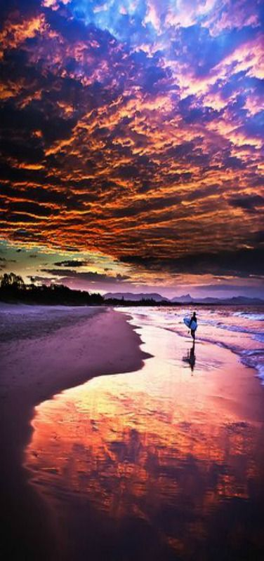 Sunset in Byron Bay, NSW, Australia | by Shadow-or-Light on Flickr