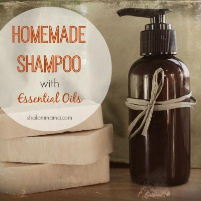 Homemade Shampoo with Essential Oils | Shalom Mama