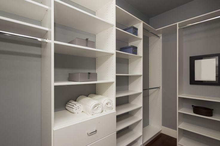 Simple Walk-in Closet