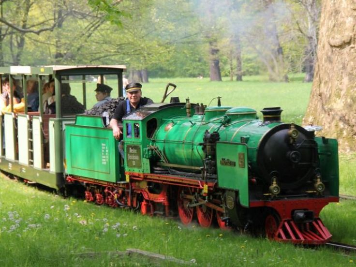 Parkeisenbahn im Großen Garten Dresden