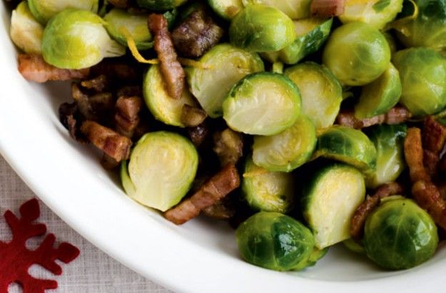 Brussels sprouts with pancetta - Gordon Ramsay