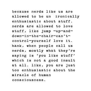 Nerds ...