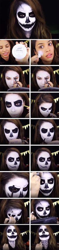 Crea tu propio #MaquillajePar Halloween, aquí te damos el #PasoaPaso para lograr un maquillaje de película.