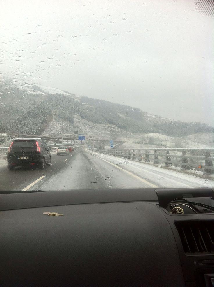 Snow in Spain?