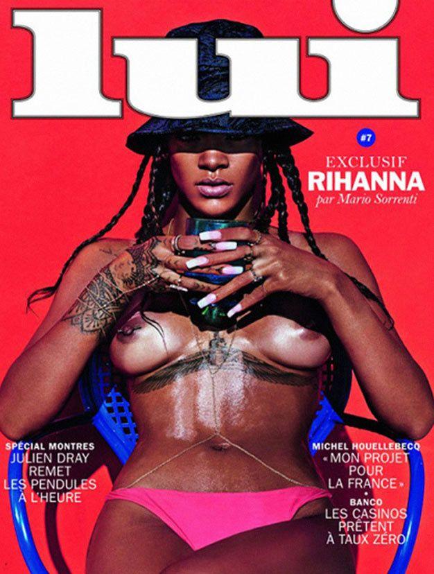 RIhanna en couverture de Lui 52