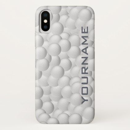 Golf Balls custom cases - monogram gifts unique design style monogrammed diy cyo customize