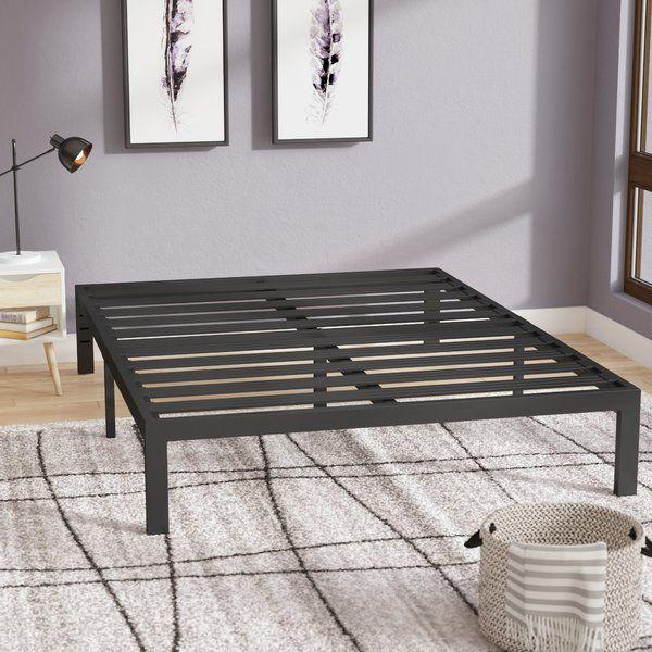 Bed Frame Home Interior Design Ideas In 2020 Metal Platform