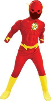 Rubie's The #Flash #Costume bambino Muscle Chest #carnevale #idealo #offerte #comics #theflash #DCcomics