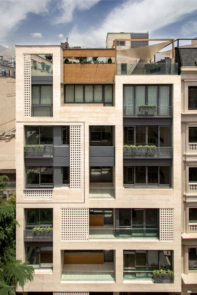 gallery of khazar residential building s a l design studio 1 - Building Designs