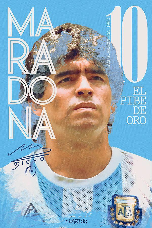 Diego Maradona - Argentina - ❶⓿ - #ElPibeDeOro #D10S