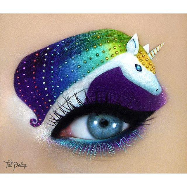 Unicorn Eye Art