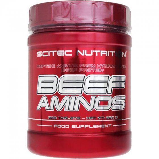 Scitec Nutrition Beef aminos (200 tabletta)