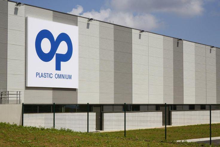 #signalétique pour Plastic Omnium par #Megamark