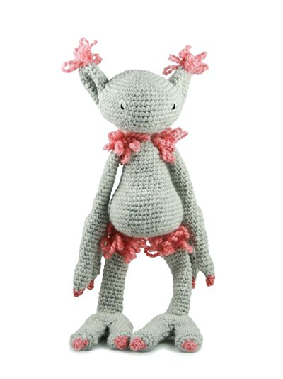 Edward's Imaginarium crochet monster kit by Kerry Lord.