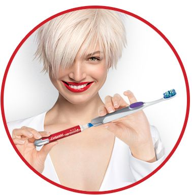 Brosse à dents Colgate® Max White + stylo blancheur