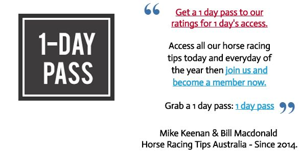 Thursdays September 22nd Free horse racing information:  This Thursdays FREE horse racing tips are now posted at   www.freehorseracingtipsaustralia.com/thursdays-horse-racing-tips  and here's hoping for another great day so great luck if you are having a punt this Thursday and I will have some more sports news for you later.  Mike Keenan.