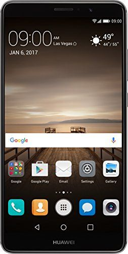 Huawei Mate 9 with Amazon Alexa and Leica Dual Camera - 64GB Unlocked Phone - Space Gray (US Warranty) -  http://www.wahmmo.com/huawei-mate-9-with-amazon-alexa-and-leica-dual-camera-64gb-unlocked-phone-space-gray-us-warranty/ -  - WAHMMO
