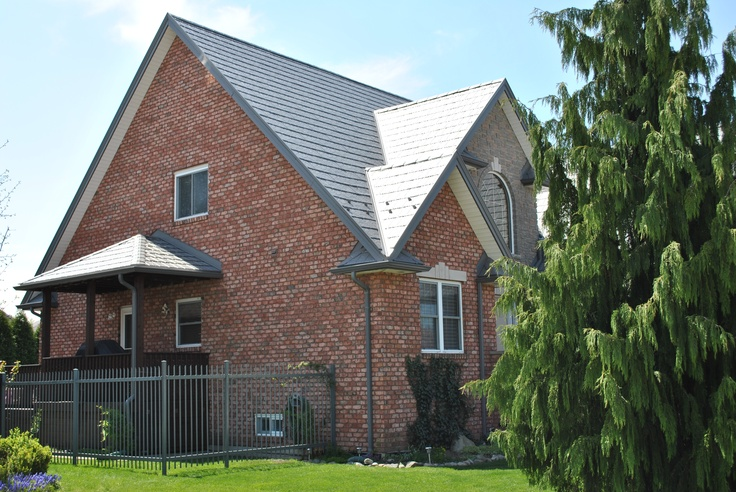 Best 11 Best Charcoal Grey Slate Metal Roofing Images On 400 x 300