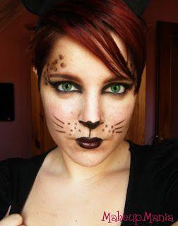 Makeupmania: Farsang - Macskanő
