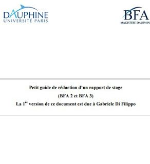 Methodologie De Rapport De Stage Pdf Exemple De Rapport De
