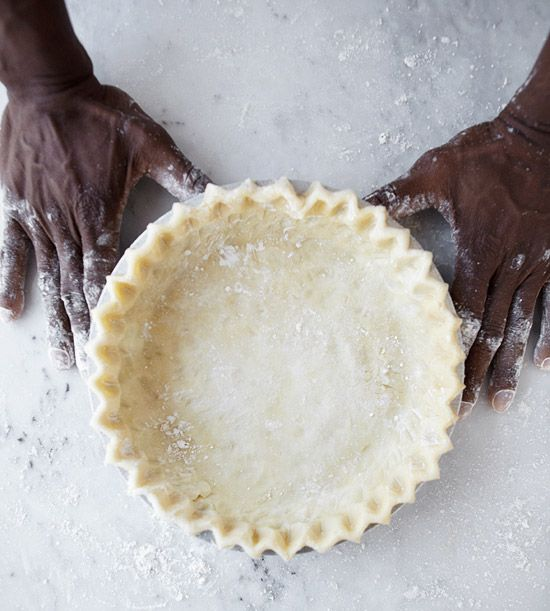 Pastry Chef's secret for the perfect crust.