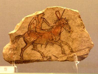 Deir el-Medina objects at Fitzwilliam Museum, Cambridge