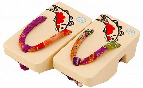 ミニ下駄(大) 白鯉│瀬戸焼 美濃焼 和食器・陶器|通販専門サイト あーと青仁