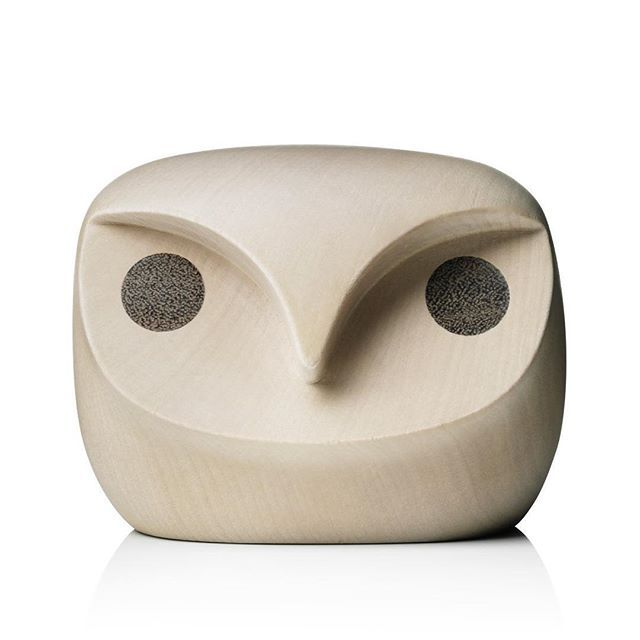 The #HowdyOwl was designed in #2011 as a collaboration between #norwegian #designers @AndreasEngesvik and @StokkeAustad  for the Designblok exhibition in Prague.  Their aim was to create a #minimalistic object that was inspired by traditional #scandinaviandesign and natural wildlife. The form of the #owl was created in polystyrene before it was put into production. The finished owl #figurine is made of #natural lindenwood that is dried for over 100 days before being milled and sanded.  In…