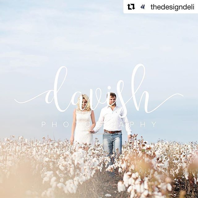 #Repost @thedesigndeli with @repostapp ・・・ I just had to show this beautiful logo again. Every time I see the branding I just fall in love all over again.  For all you romantics out there, this is probably the most romantic engagement session I've seen in a long time, and being in the industry, I've seen a lot.  It's people and clients like @davish that makes me want to go that extra mile.  #lovemyjob #designdeli #rosegoldfoil #davishphotography #branding #corporateidentity #cottonfields…