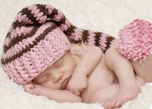 lange babymuts - babymutsje met naam
