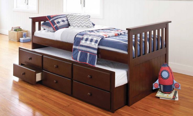 Bailey Captains Bed by John Young Furniture from Harvey Norman NewZealand
