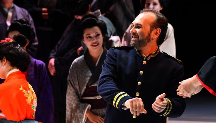 Atto I , Angelo Villari (Pinkerton) (foto di Roberto Ricci)