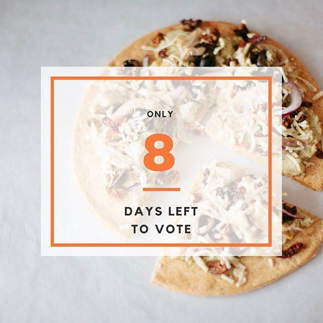 There is only 8 days left to vote and we could use your help to be able to expand into a larger kitchen. Have you voted today?...Remember you can vote every 24 hours! Vote now - Link in Bio #paleobread #glutenfreetreatshttps://www.instagram.com/p/BSPjuMIg-2J/