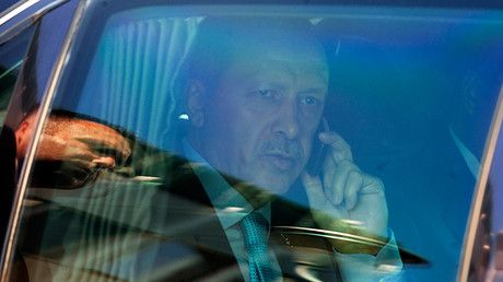 Message from the president: Erdogan's voice heard before dial tone on anniversary of failed coup https://tmbw.news/message-from-the-president-erdogans-voice-heard-before-dial-tone-on-anniversary-of-failed-coup  Published time: 16 Jul, 2017 13:42Edited time: 16 Jul, 2017 13:44Turkish mobile networks users making calls on the anniversary of the failed 2016 coup attempt were surprised to hear President Erdogan's voice before the dial tone, hailing the martyrs who sacrificed their lives for…