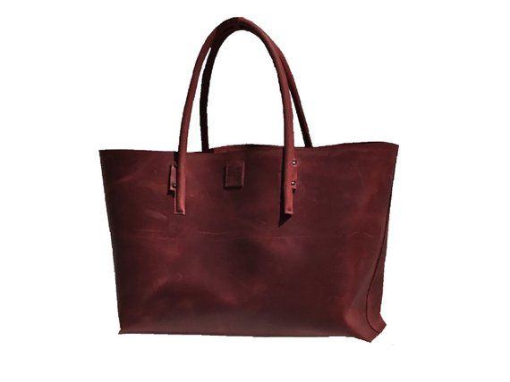 XXL leather bag for big purchase large leather shopper bag semi-rigid leather handmade weekender shopper used look handmade – elisabeth kluge