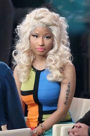 Nicki Minaj Lettering Tattoo