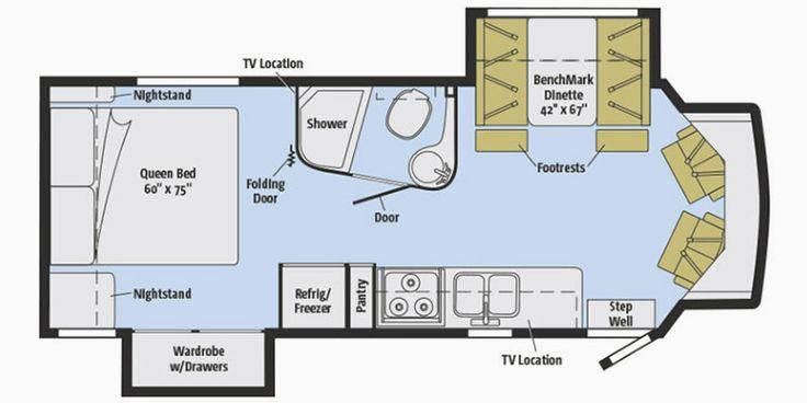Find specs for 2016 winnebago aspect floorplan 27k