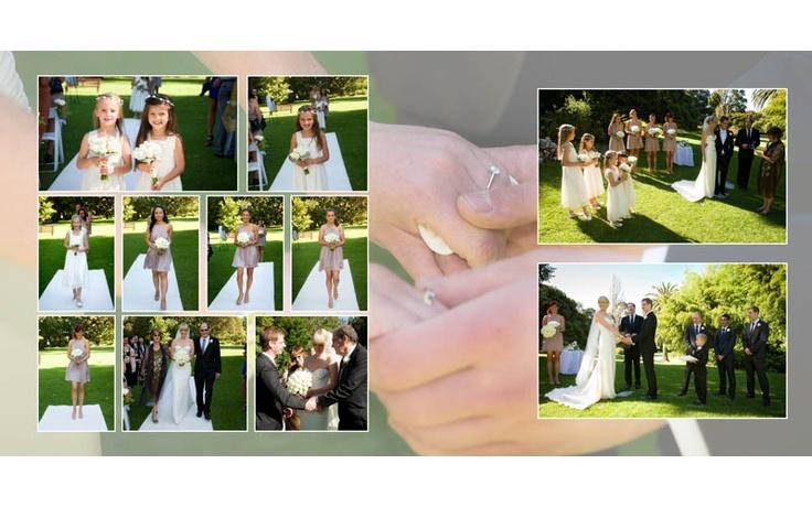 wedding album Melbourne