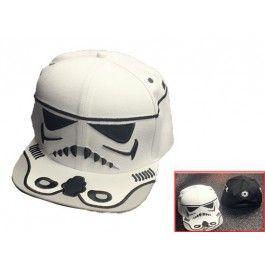 Star Wars Movie Snapback Cap White $25.99