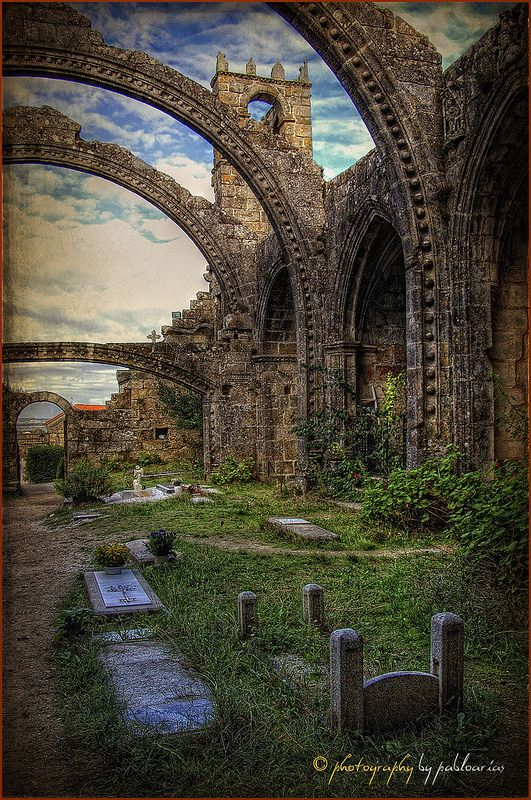 (023/14) Ruinas de Santa Mariña de Dozo (Cambados)  ✈✈✈ Don't miss your chance to win a Free International Roundtrip Ticket to Galicia, Spain from anywhere in the world **GIVEAWAY** ✈✈✈ https://thedecisionmoment.com/free-roundtrip-tickets-to-europe-spain-galicia/