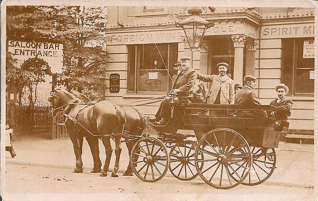 Eagle, 2 Chestnut Road, Tottenham - c 1895