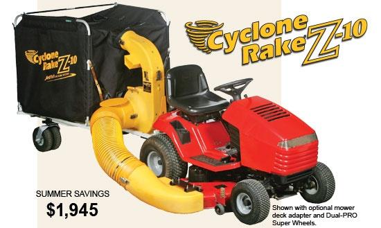 Cyclone Rake Z 10 Leaf Vacuum Things I Want For Workin